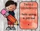 Types of Sentences Helpful Friends Poster Set