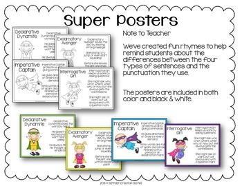 Types of Sentences - Independent Practice