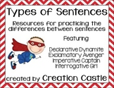 Types of Sentences - Independent Practice