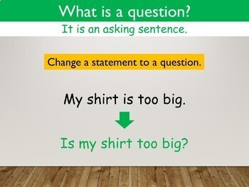 Types of Sentences and Punctuation Interactive PowerPoint