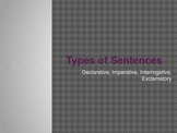 Types of Sentences Introduction and Game