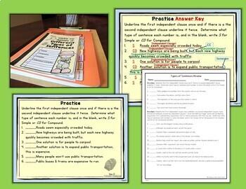 Types of Sentences Simple, Compound, Complex, and Compound-Complex