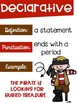 Types of Sentences Posters with a Pirate Theme