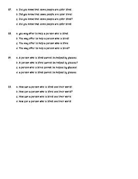 Types of Sentences Practice