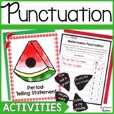 Types of Sentences Punctuation Literacy Center