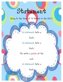 Types of Sentences Set of 4 Posters