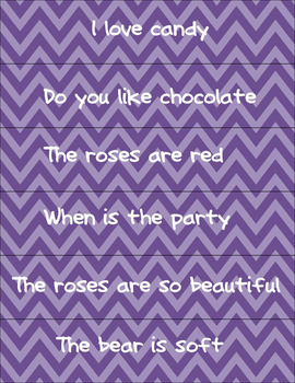 Types of Sentences Sort - Valentine's Day Themed