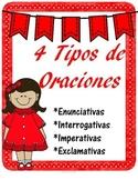 Types of Sentences (Spanish) - Tipos de oraciones 1