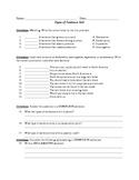 Types of Sentences Test/Quiz