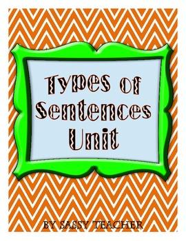 Types of Sentences Unit