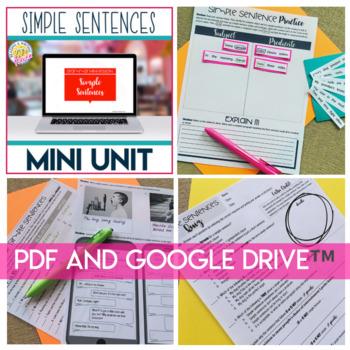 Sentence Types (Sentence Structure): Simple, Compound, Complex, Compound-Complex
