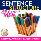 Sentence Structure Bundle: Simple, Compound, Complex, Compound-Complex