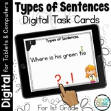 Types of Sentences and Ending Punctuation Activities for Digital Fun