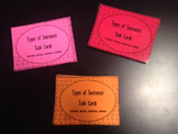 Types of Sentences task cards- READY TO USE!