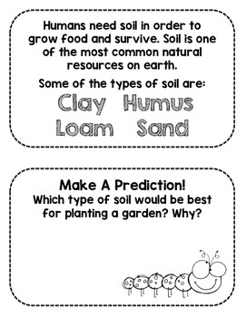 Types of Soil Book Investigation