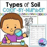 Types of Soil: Color by Number
