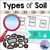 Types of Soil: Cut and Paste Sorting Activity
