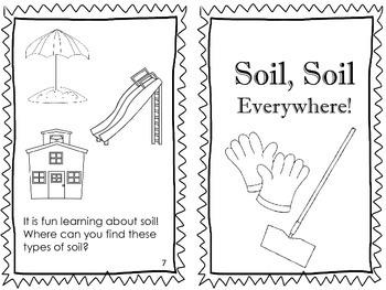 Types of Soil Emergent Reader