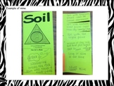 Types of Soil Foldable