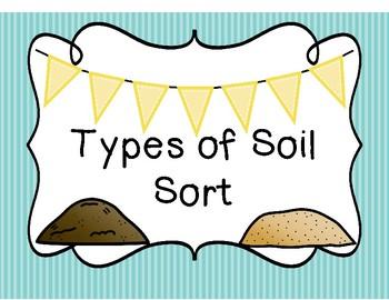 Types of Soil Sort