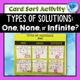 Types of Solutions Card Sort Cut and Paste Activity