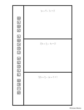 Types of Solutions - Multi-step Equations