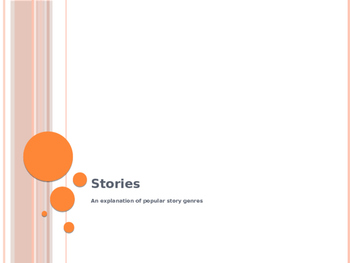 Types of Stories Explanation Power Point