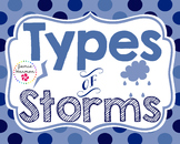 Types of Storms Mini Chart Set
