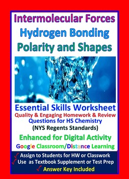 Types of Substances: Ionic Molecular Metallic - Worksheets & Practice Questions