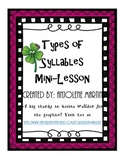 Types of Syllables Mini Lesson