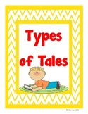 Types of Tales Poster Set