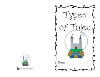 Types of Tales Printable Book