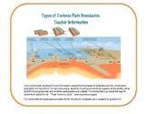 Types of Tectonic Plate Boundaries: Worksheet (DIGITAL)