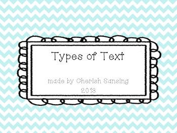 Types of Text Posters