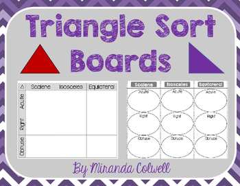 Types of Triangle Sorting Boards