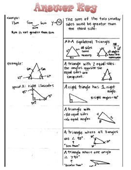 Types of Triangles 7th Grade Geometry Common Core 7.G.2