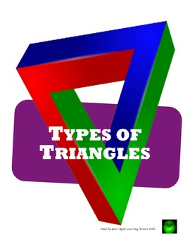 Types of Triangles Activity