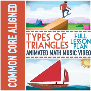 TYPES OF TRIANGLES: Classifying Triangles with Triangles Game, Video, & More