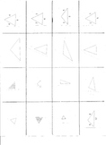 Types of Triangles Center, Game, or Sort