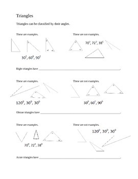 Types of Triangles - Create Your Own Meaning