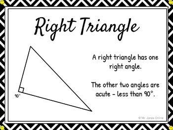 Types of Triangles: DIY Math Anchor Chart CLIPCHART