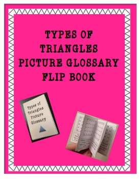 Classifying Triangles Flip Book