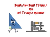 Types of Triangles Powerpoint : Righty The Right Triangle FREEBIE