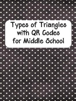 Types of Triangles Using QR Codes