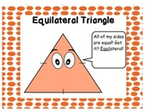 Types of Triangles Word Wall Posters (**COMMON CORE aligned)