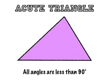 Types of Triangles and Angles