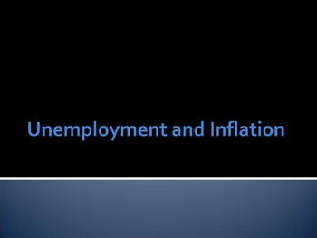 Types of Unemployment / Inflation Tradeoff / Phillips Curve A Level IB PPTs