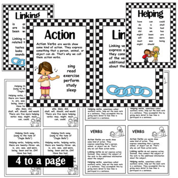 Types of Verbs- Action, Linking, and Helping