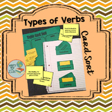 Types of Verbs Card Sort: Linking, Transitive, and Intransitive