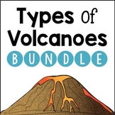 Types of Volcanoes BUNDLE